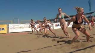 Пляжный волейбол (тренировка)