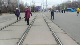 Москва Трамвай Маршрут 36