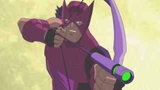 Мстители: Величайшие герои Земли | Все серии подряд сборник мультфильма Сезон 1 серии 5-8
