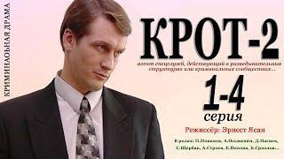 Остросюжетный сериал КРОТ-2 (2 сезон) 1,2,3,4 серия Фильм Сериал Кино Боевик Беспредел