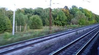 Вид из окна поезда № 481ЯА Москва-Новороссийск