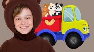 ДЕЛОВАЯ МАШИНКА - Маша и Три Медведя - Детская песенка про Машину - Kids Song About Car