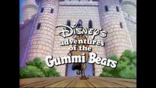 Мишки Гамми. 1-ая русская заставка (Gummi Bears. Russian Intro #1) HQ