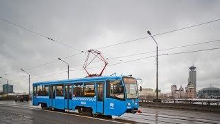 Поездка на трамвае 71-619А № 4065 Маршрут № 38 Москва