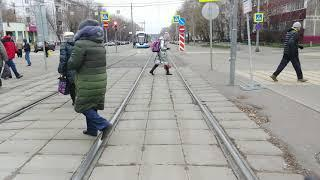 Москва Трамвай Маршрут 24