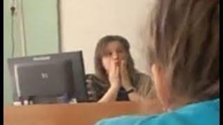Учитель матерится на уроке русского языка
