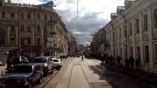 Москва, маршрут трамвая №Б