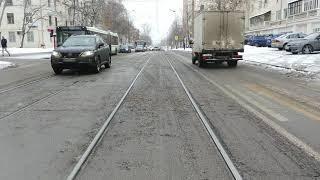 Москва Трамвай Маршрут 35