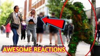 BUSHMAN Prank | Crazy Public Reactions