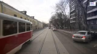 "Трамвай ""Аннушка"" / ""Annushka"" Tram (Moscow Route A)"