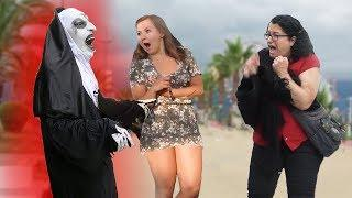 SCARY NUN PRANK 2 - FUNNY JOKES