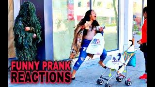 AMAZING Bushman Prank Reactions! San Francisco