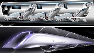 Поезд Будущего - HYPERLOOP Илона Маска - Новый принцип передвижения.