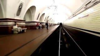 Мос Метро глазами машиниста, Вид из кабины машиниста в метро