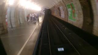 Поездка в кабине машиниста метро