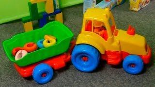 Развивающие видео для детей про машинки. Все серии подряд
