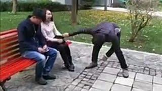 Новый приколы Китай Смешные видео про людей Приколы