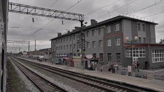 Воронеж из окна поезда (Отрожка — Придача)