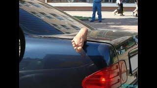Что творится на дорогах Необычные случаи Лучшие авто приколы Смешные видео Приколы