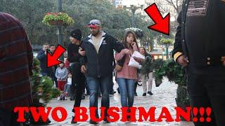 Bushman Prank 2020 -- Crazy Reactions!!!