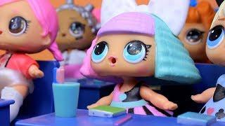 Куклы ЛОЛ СМЕШНЫЕ ВИДЕО 3 Сюрпризы #Игрушки Мультики от Лалалупси Вероника