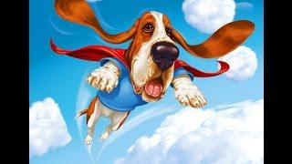 Рассказ для детей Летающая собака - Смешные истории для малышей