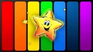 Учим цвета по системе Монтессори Развивающие мультики для детей