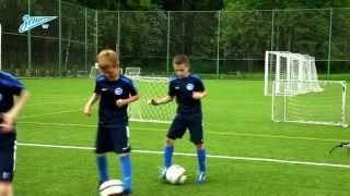 Академия футбола. Урок №5. Разминка
