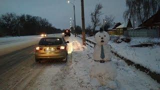 Жесть на дорогах Лучшие авто приколы Смешное видео Приколы