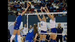 Украина — Россия. Волейбол. Женщины. Чемпионат Европы 2017. 1 тур. Группа С
