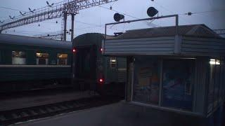 Екатеринбург Тюмень вид из окна поезда