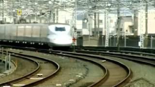 Поезд пуля. Инженерные идеи. Скоростной поезд в Японии