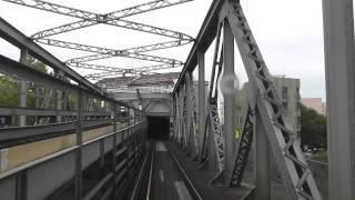 Вид из метро Берлина, снятый машинистом поезда