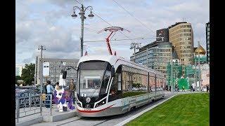 Поездка на трамвае 71-931М Витязь-М № 31080  Маршрут № 9 Москва