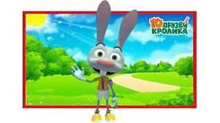 10 Друзей Кролика Все серии подряд Мультики для детей HD Сборник 1