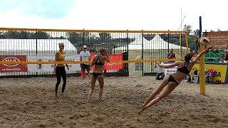 Пляжный волейбол. Женщины. Игра за 3-е место. Чемпионат России