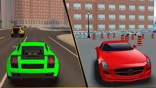 Развивающие мультики про машинки - Азбука безопасности - правила дорожного движения и светофор