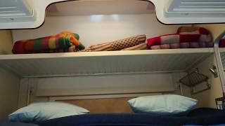 Поезд 083 Москва-Адлер Плацкартный вагон Июнь 2019
