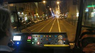 Прага из кабины трамваев / Prague through the cab of tram