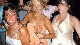 Пьяные бабы-что может быть смешнее! Лучшие приколы 2016