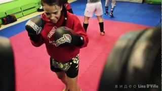РИНГ (спорт, мотивация, тайский бокс) автор Lina D'Ville