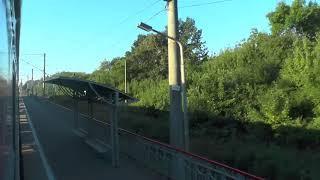 Краснодар из окна поезда