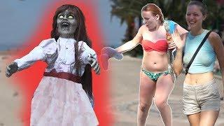 SCARY GRIM HALLOWEEN PRANK AWESOME REACTIONS