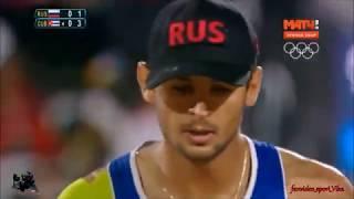 Моменты матч 1/4 финала Россия-Куба