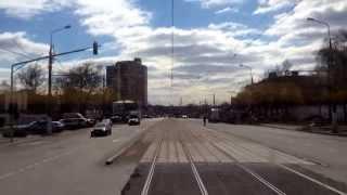 Москва, маршрут трамвая №36, часть 1.