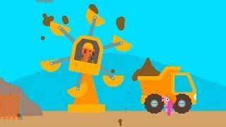 Смотреть мультик - Хомячок строитель и Рабочие машины. Мультфильмы для детей.