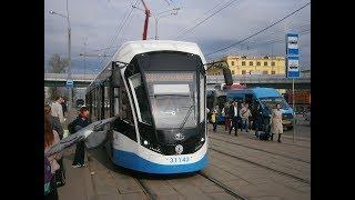 Москва, маршрут трамвая № 36 - Moscow tram