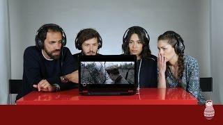 """Итальянцы смотрят клип """"Кукушка"""""""