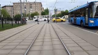 Москва Трамвай Маршрут 40