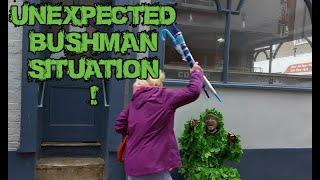 BUSHMAN PRANK Unexpected situation! 2020 UK